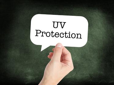 UV written on a speechbubble