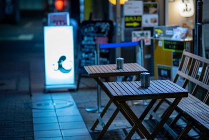 小倉中心街の横丁飲み屋街(福岡県)