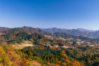 絶景秋の国見ケ丘からの眺め