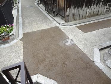 重要伝統的建造物群保存地区今井町の四つ辻