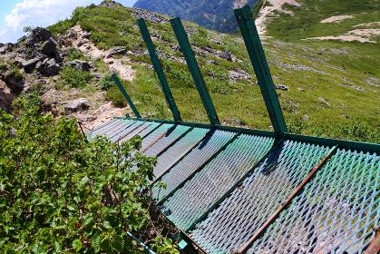 八ヶ岳登山 天狗岳への登山道