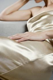 Woman's hand.