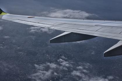 西新宿上空