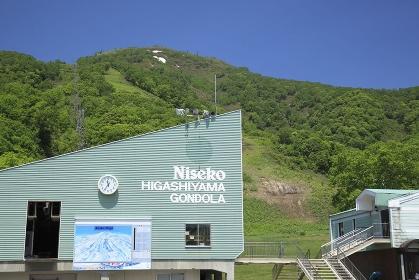 初夏のニセコ東山スキー場