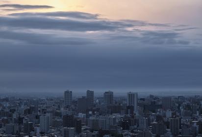 旭山記念公園から見る日の出