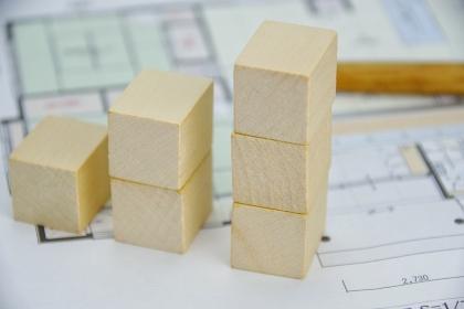 建築費の積立てイメージ