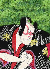 浮世絵 歌舞伎役者 その10 油絵バージョン