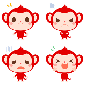 サル キャラクター