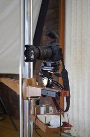 スタジオ撮影 カメラ
