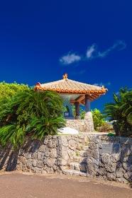 鹿児島県・与論島 夏の島の風景