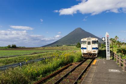 JR日本最南端の駅 鹿児島県西大山駅