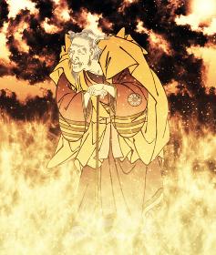 浮世絵 歌舞伎役者 その34 炎バージョン