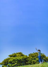 青少年 屋外 アウトドア 【 スポーツ の 秋 の イメージ 】