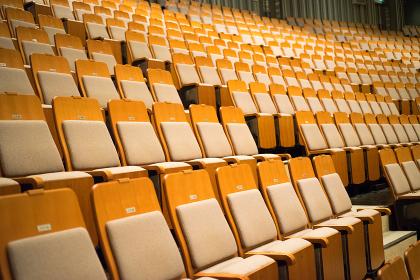 屋内観客席(ホール・シアター・劇場・イベント・講堂)