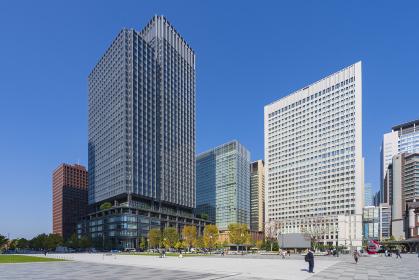 【東京都】都市景観 丸の内オフィスビル群