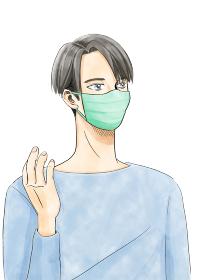 まんがタッチ男性マスク