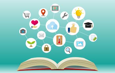 バナーイラスト (ビジネス,テクノロジー,IT,ネットワーク,知識,勉強 etc.)
