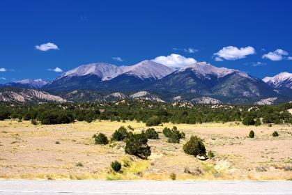アメリカ合衆国・コロラド州 荒野の風景