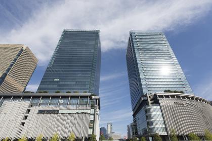 グランフロント大阪の高層ビル群