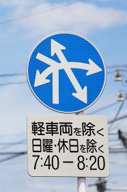 複雑な道路標識