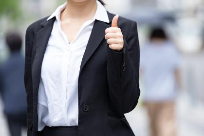 【ハンドサイン・GOODサイン】新入社員・就職活動学生