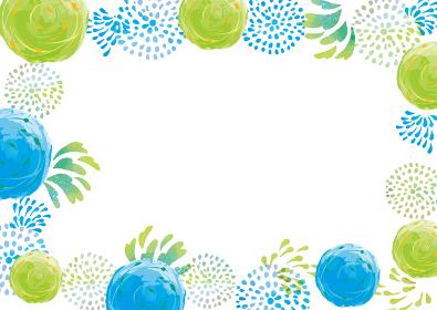 夏の水彩風 夏祭りとヨーヨーの背景素材 水彩 ヨーヨー釣り 水ヨーヨー 水風船 夏 夏祭り お祭り