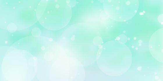 抽象的な丸いボケ、ぼかしの背景(ミントグリーン)