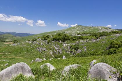 北九州国定公園平尾台 中峠付近からの眺望
