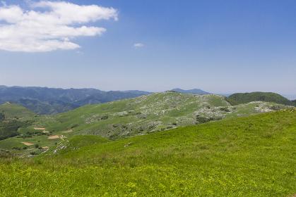 北九州国定公園平尾台 周防台からの眺望