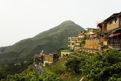 九フンの街並み 台湾