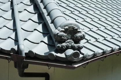 日本の伝統的な屋根のイメージ素材