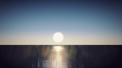 日の出、日の入り、初日の出、新年のビジュアル