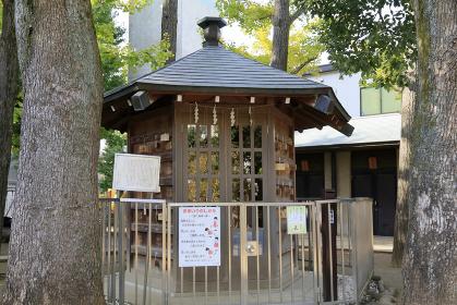 烏森八幡神社 将棋堂