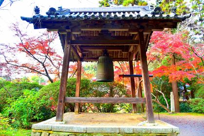 奈良 長岳寺 鐘楼
