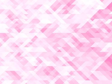 アブストラクト ポリゴンB ピンク 01