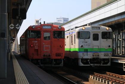 根室本線帯広駅 キハ40形