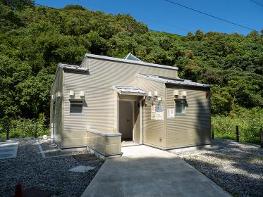 三浦半島 小網代の森のトイレ