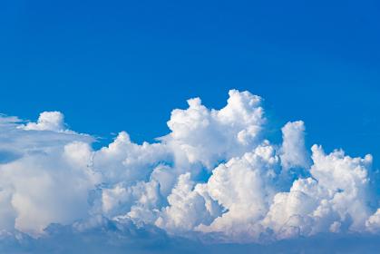 夏の空と積乱雲
