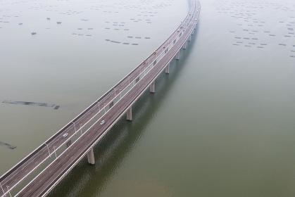 Hong Kong, 16 October 2018:- Shenzhen Bay Bridge