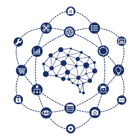 AI (エーアイ・人工知能) イメージイラスト