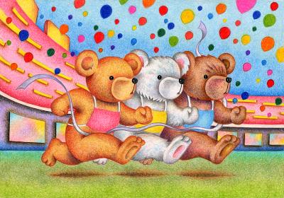 熊の運動会