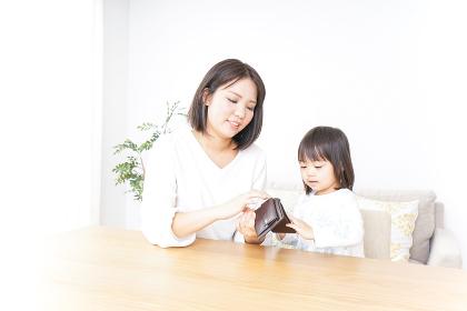 家計を学ぶ子供