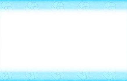 背景素材:青い和柄のフレーム