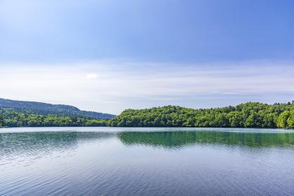 静寂の湖オンネトー