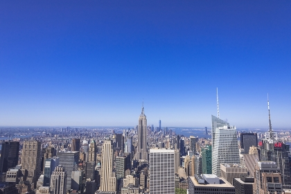 ニューヨーク トップ・オブ・ザ・ロック展望台よりミッドタウンの街並み
