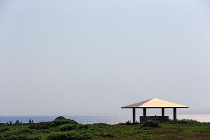 日本最南端の休憩所、沖縄県波照間島