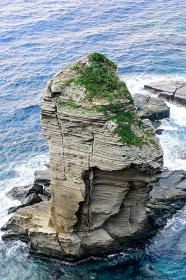 与那国 立神岩