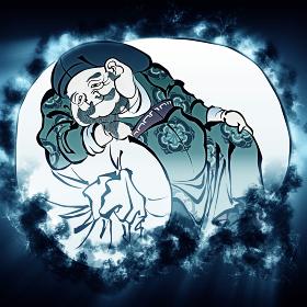 浮世絵 福の神 その3 煙バージョン