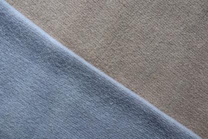 ブルーとグレーのニットで作る背景 1
