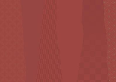落ち着いた赤色の和柄 縦縞背景